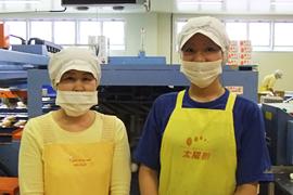 出荷担当の工場スタッフ