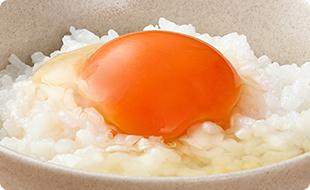 オススメの食べ方「卵かけご飯」