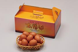 最高級卵「特選太陽卵」30個入り 3,500円