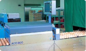 安全な卵づくり「検品」