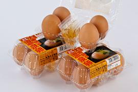 産地直送「太陽卵温泉卵(だし付)」4個入り3パック